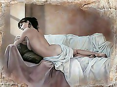 Erotic Watercolors of Pascal Chove