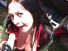 Biene-The blowjob Lady- Military blowjob, handjob