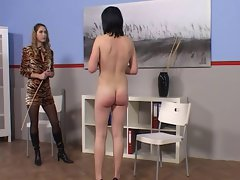 Caning girls #3