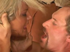 Anal nailing session with honry blonde slut and throbbing boner