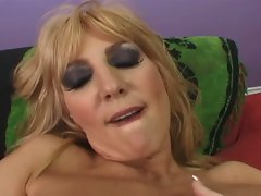 Milf fucked deep in both wet holes by big cock