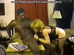 Black boss fucking vintage redhead whore in the office