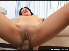 Sindee Jennings loves to ride a big hard cock taking to deep in her cunt