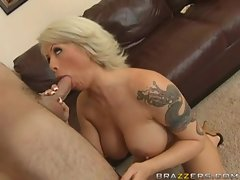 Brooke Haven gets gagged by a long thick cock rammed in her mouth