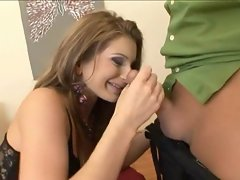 Electra Angels knows how to wrap her lips around a cock