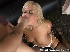 Cum addict Tara Lynn loves getting her mouth filled with a hot load of cum