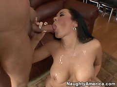 Jayden James gets a big mouthful of creamy spunk