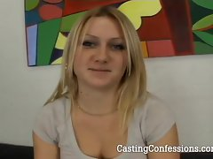 21 Year Old Kelly Rose Gets Casting Call