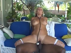 MILF nurse Chennin Blanc is black cocked