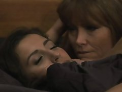 Darla Crane can't resist trying to convert April ONeil to lesbianism