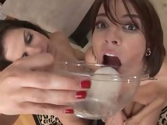 Dana DeArmond & Bobbie Star are fucked in every hole by many cocks
