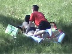 Amateur Sex in Public Park