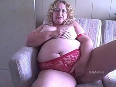 Granny give Jerk off instruction