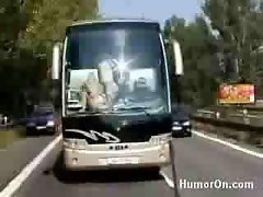 Funny Porn German Bus ride