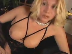 Sexy Blond Shemale Shoots HUGE...