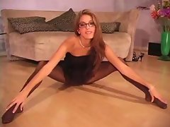 Jenna Haze in Pantyhose pt.1