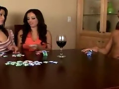 Poker Game Turns To Cock Sucking