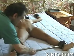 Slow spanking the woman