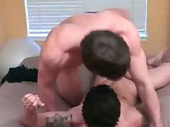 Buffy latino gets his cock fucked
