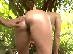 Sexy housewife with her gardener