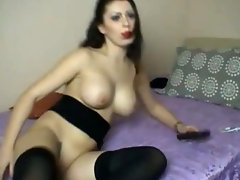 Hot Babe Fuck Her Favorite Dildo