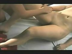 Two ladies nude massage