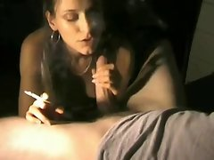 smoking fetish babe