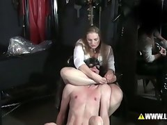 Punishment of unruly pupils - breath reduction &amp, Spank