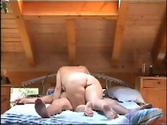 bbw blows hubby on hidden cam