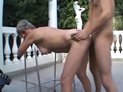 granny outdoor fuck