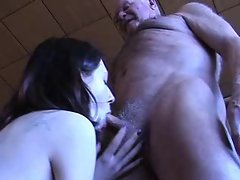 Grandpa Gets a Blowjob