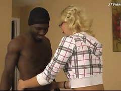 Ghetto Black fucks 18 yo Blonde - Preview