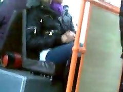 rus Public Masturb BUS ABUSES Cum GIRL 47 - NV