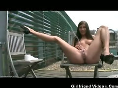 Naughty Girl Pees In Public