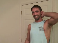 Str8 guy first time gay fucking interrupted by another Str8 guy.