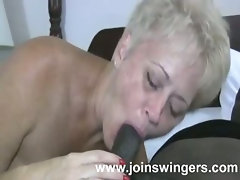 Schlong sucking mature bitch