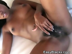 Hot Black Ex Girlfriend Gets Naked And Plays With Pussy