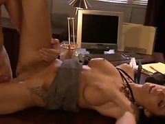 Cum guzzler Juelz Ventura gets rammed after a hot clit licking