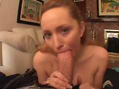 Aiden Starr has her love nest licked till it shoots love juice