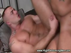 Jessie Colter dicks fits nicely into Trey Turner tight ass as he ass fucks him