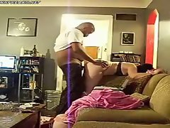 Interracial PAWG doggystyle fuck