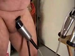 Fellow have a Milking Machine on Shaft