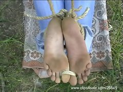 Bastinado Feet and Footjob