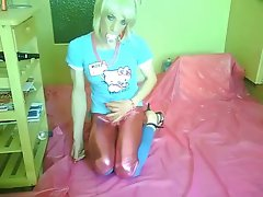 baby-shemale tvsonja enjoy cockplaying