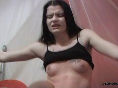The kinky chatgirl, Rony were in a painful trouble again.