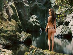 Natalie Portman Your Highness (Thong Shot Slow Motion)