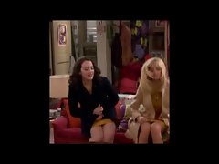 Kat Dennings and Beth Behrs Upskirts (2 Broke Girls)