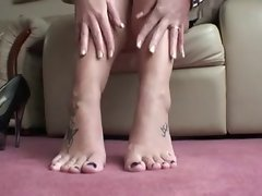 POV - Foot Worship with Humiliation