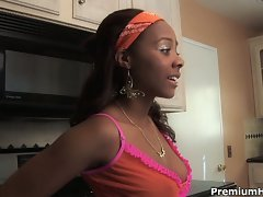 Clara trez throws her young ebony pussy for sale