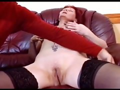Granny the whore gets hard fuck